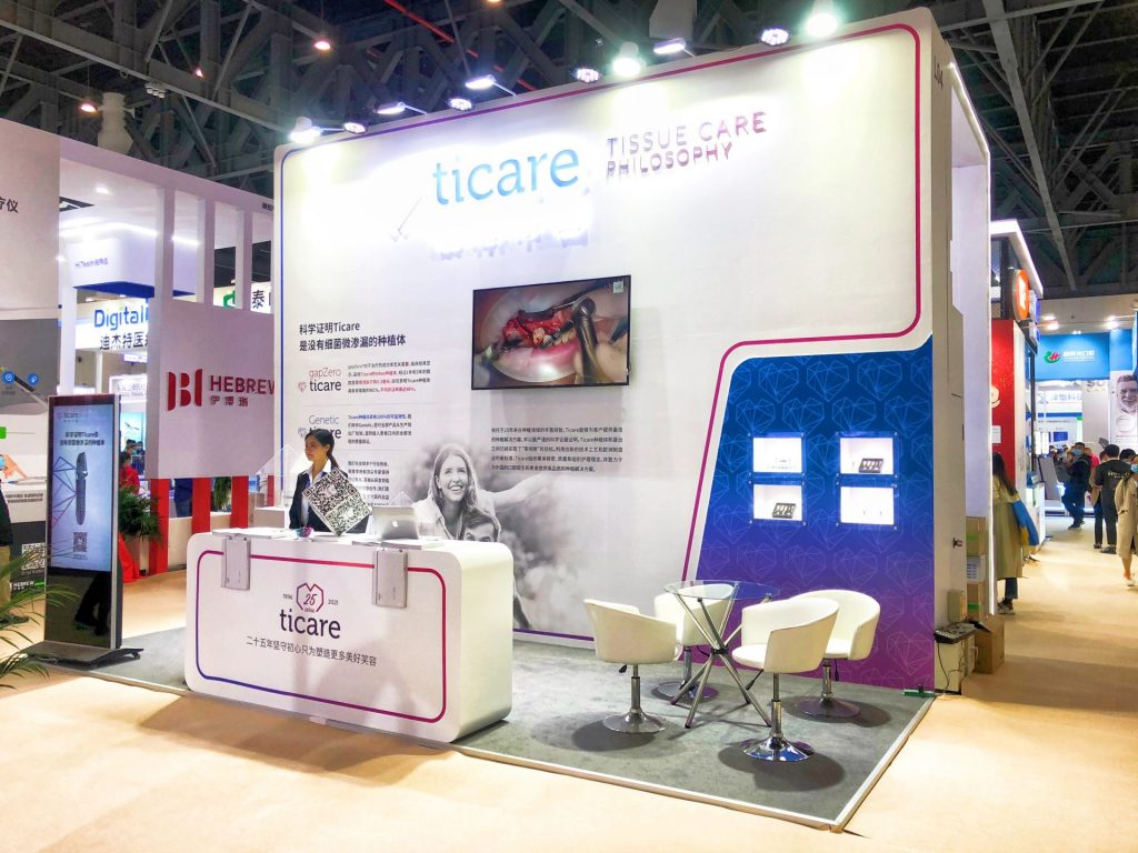 Ticare´s Stand in West China Dental Show 2021